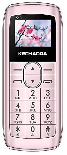 KECHAODA K10 SIM KEYPAID Mini Mobile Phone,Bluetooth Size (Pink)