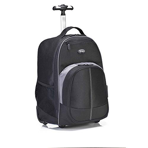 Targus Compact Rolling Backpack for Business, College Student and Travel Commuter Wheeled Bag,...