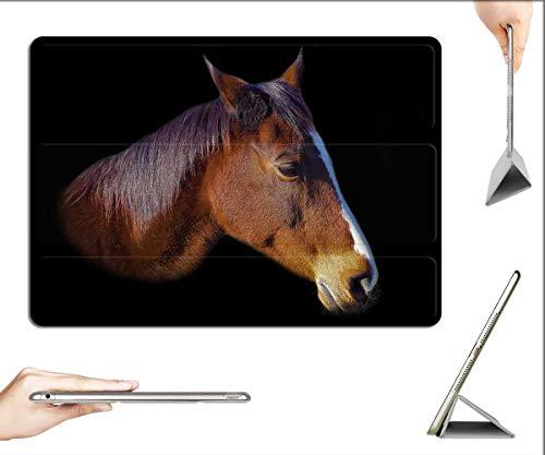 Case for iPad Pro 12.9 inch 2020 & 2018 - Horse Horse Head Eye Pferdeportrait Animal