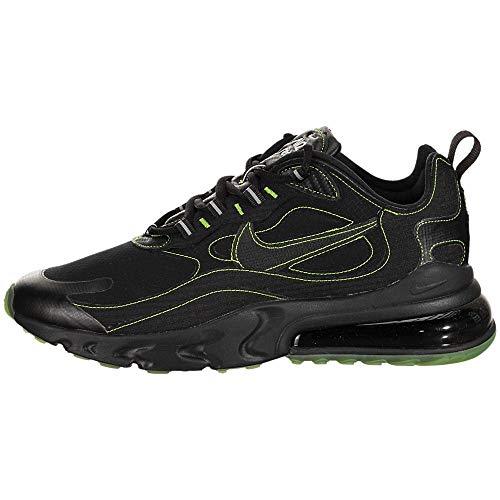 Nike Air Max 270 React Sp, Scarpe da Ginnastica Uomo, Nero (Black/Black-Electric Green), 42 EU