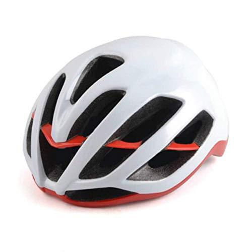 Cfbcc Radfahren Rennrad ultraleichter Fahrradhelm Erwachsener weibliche Bergmann Fahrrad Mountainbike rot Racing Helm Fahrradhelm