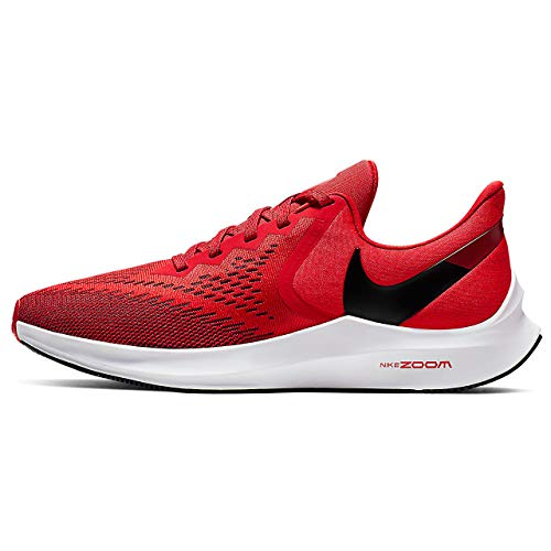Nike Men's Track & Field Shoes, Multicolour University Red Black Gym Red White 600, US:9