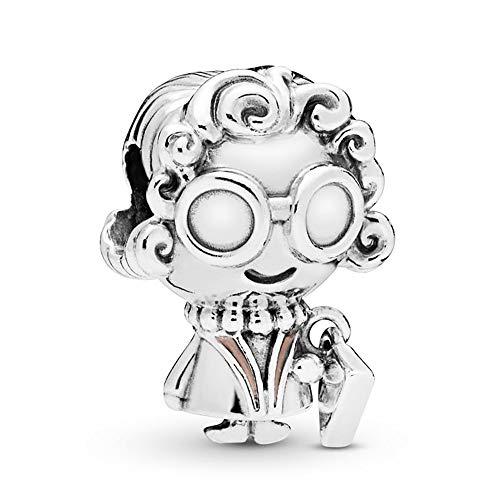 MiniJewelry Mom Grandma Charm for Bracelets Cute Sterling Silver Charm for Women Family