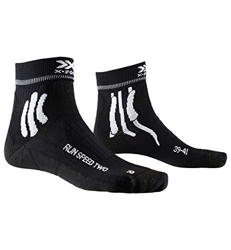 X-Socks Run Speed Two Socks, Unisex – Adulto, Opal Black, 42-44