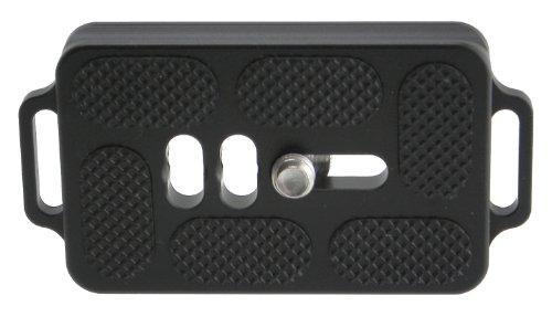 Desmond DTB-60 QR-Objektivplatte, 60 mm, mit Doppelriemen, kompatibel mit Arca Swiss