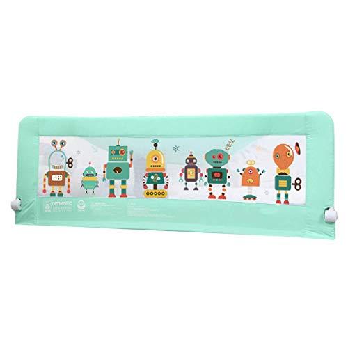 WYJW Veiligheid Baby Guardrail Kinderbed Rails Hek om te voorkomen vallen nachtkastje voor peuters/kinderen/kinderen (Hoogte 72cm), Stevige en Stevige Max.Load 60kg