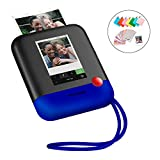 Polaroid POP 2.0 – Fotocamera digitale a stampa istantanea, con display touchscreen da 3,97', Wi-Fi integrato, video HD da 1080p, tecnologia zero inchiostro Zink e nuova app, blu
