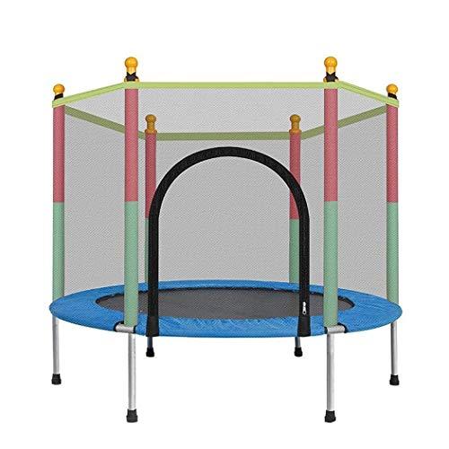 Trampolines voor binnen- en buitenkinderen Trampoline met behuizing net springmat en lente Cover Padding Trampoline recreatieve trampolines voor kinderen, Max Weigh 330 lbs