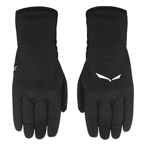 Salewa Ortles Pl Gloves Handschuhe, Black Out, XS