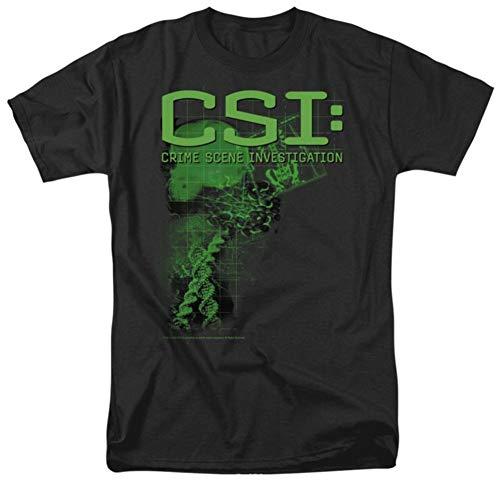 off Evidence - CSI: Crime Scene Investigation Adult T-Shirt Camisetas y Tops(Medium)