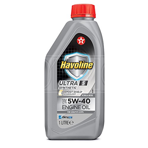 Texaco Havoline Ultra S 5W-40 - Aceite de motor sintético (1 L)