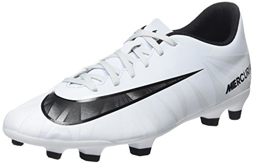 Nike Herren Mercurial Vortex III CR7 FG 852535 401 Fußballschuhe, Blau (Blue Tint/Black/White/Blue Tint), 46 EU