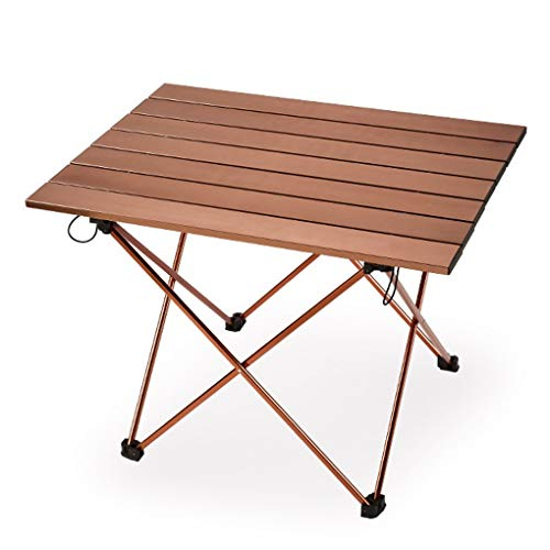 Outdoor Folding Draagbare Camping Tafel Tuintafel Voor Vissen Picknick Champagne
