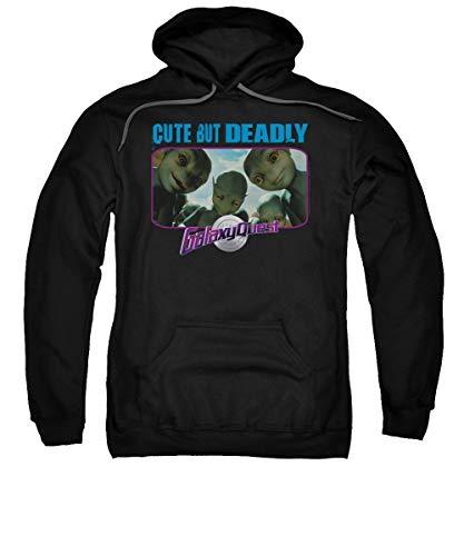 Galaxy Quest - Cute But Deadly Sweat à capuche Noir - Noir - XL