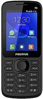 Feature Phone, Positivo, 11132387, 512 MB, 2.4, Preto