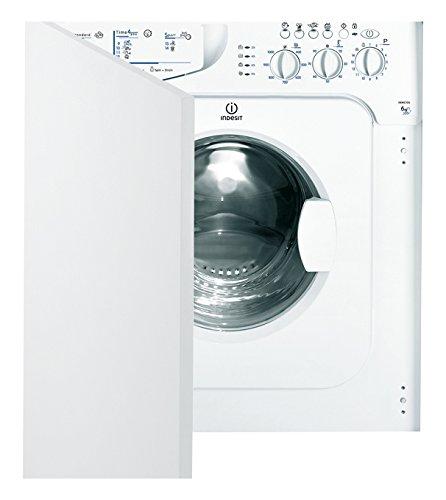 Indesit IWME 106 (EU) Incasso Carica frontale 6kg 1000Giri/min A+ Bianco lavatrice