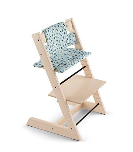 Coussin chaise haute Tripp Trapp coton bio Blue Fox - Stokke