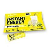GoMo ENERGY Isotonisches Energie Sportgetränk | Koffein, Elektrolyte und Mineralienmix Magnesium + Kalium + Calcium + Natrium + Zink + Vitamin B-Komplex │Sports Minerals 10 Einzelportionen (10 x 5.3g)