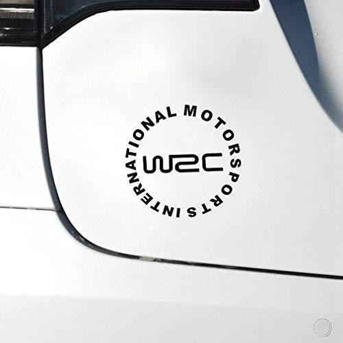 Car Sticker automovilismo internacional etiqueta engomada del coche wrc world rally etiquetas engomadas del coche para el coche portátil etiqueta de la ventana