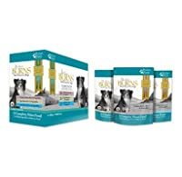 Wet food for adult dogs from six months up to senior In 3 varieties with tasty rice and seasonal vegetables With valuable vitamins and minerals for optimal nutrient content Made with home-grown and locally sourced ingredients Mixed Pack 24 x 400g con...
