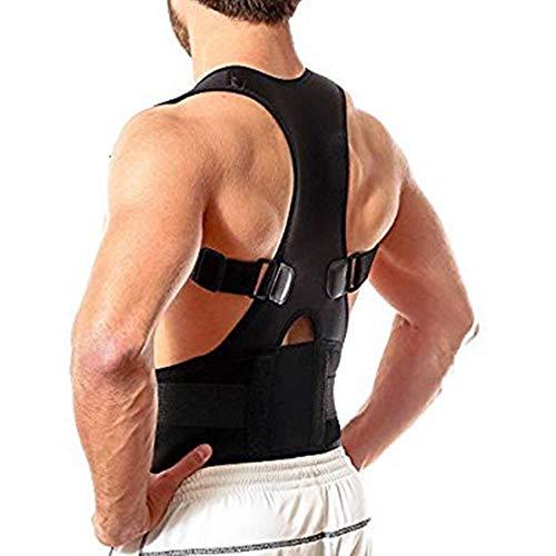 shcc Haltungsorthese, Korrektur Der Lendenschulterhaltung Für Die Unterstützung des Oberen Und Unteren Rückens, Verstellbarer Neopren-Gurt Zur Linderung Von Rückenschmerzen