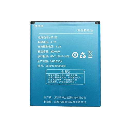 Zopo Zp810, Zp820, Hero H7500, Batteria Compatibile da 2000 mAh, Bt75s