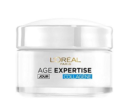 L'Oréal Paris Age Expertise - Crema intensiva de día hidratante y antiarrugas con colágeno, para mayores de 35años, 50ml