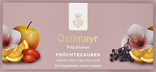 Dallmayr Tee Aufgussbeutel - Früchtezauber, 1er Pack (1 x 62,5 g)