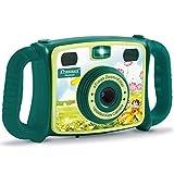 DROGRACE Kids Kamera 1080P HD Digital Video Kamera mit 4x Zoom, Flash Lichter, 5,1cm LCD und...