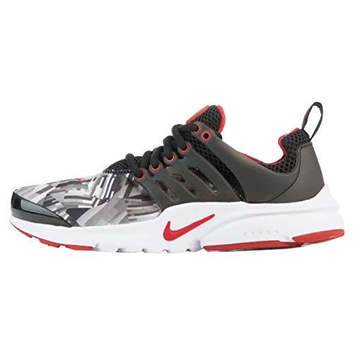 Nike Nike Jungen 859596-001 Traillaufschuhe, Schwarz (Black/Gym Red/Wolf Grey/White), 38.5 EU