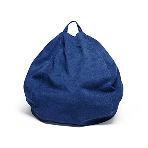 LDIW Puff Funda de Bean Bag Cubierta de Bolsa de Frijoles (Sin Relleno) para Habitacin o Sala de Juegos para Nios Nios de Gran Capacidad,S5