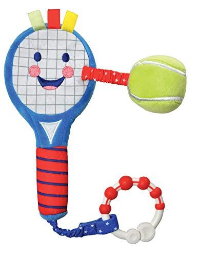 Little Sport Star Entwicklungsförderungs-Soft-Tennisschläger | Unisex-Baby-Sensorikspielzeug | Babyparty-Geschenke & Säuglingsspielzeug | Kinderwagenspielzeug für Babys & Baby-Entwicklu