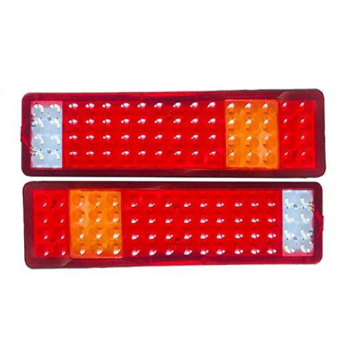 Awsgtdrtg Feu Arrière De Voiture 24V, Feu De Freinage À LED pour Camions Remorques