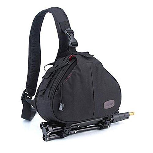 Caden K1 - Bolsa de Hombro para cámara + Funda Impermeable