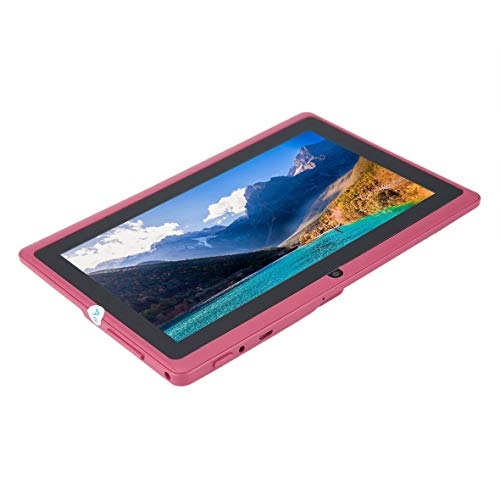Cosye Tableta Tableta de 7 Pulgadas para Allwinner A33 Tablet PC 512MB + 4GB para 4.4 Quad Core Q88 Kids Pad