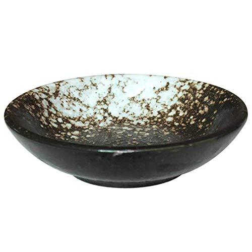 LLNA Piatto per Salsa di soia in Ceramica Stile retrò, Set di Ciotole per contorni in Porcellana Multiuso Giapponese, (Bianco, 20)