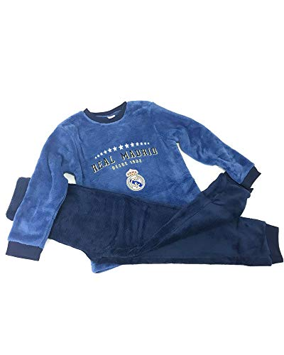 Pijama Coralina Invierno Niño Real Madrid Estrellas (12