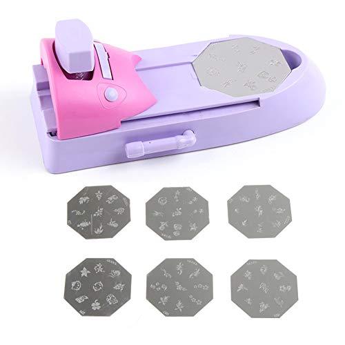 Nagel Kunst Stamping Kit Nail Art Drucker Zeichnung Druckmuster Stempel Maniküre Maschine Stamper DIY