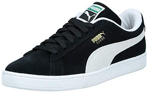 PUMA Suede Classic+, Zapatillas Bajas Unisex Adulto, Negro (Black/White), 45 EU