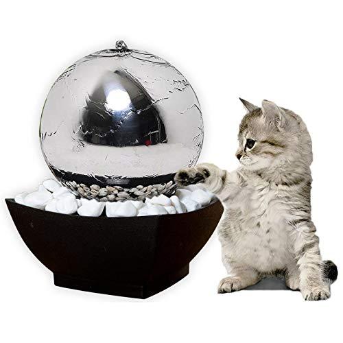 Köhko Haustier Trinkbrunnen Katzen und Hunde Wasserspender Kugelform 25005