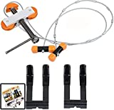 IVEKE Portable Hand Held Bow Press with 2 Quad...