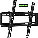 Tilt TV Wall Mount Bracket for Most 32-55 Inch Flat Screen, Curved TVs - BLUE STONE Universal TV Mount with VESA up 400x400mm,Loading Capacity 66 lbs, Fits 8',12',16' Studs