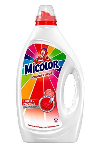 Micolor Detergente Líquido Colores Vivos - 30 Lavados (1.5 L)
