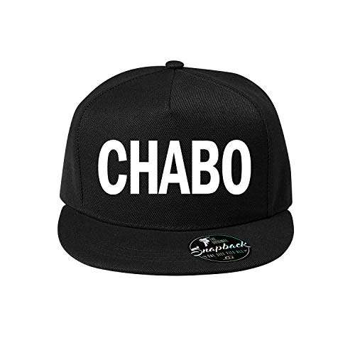 Chabo Baumwolle Baseball Cap, Basecap - Unisex Kappen, Sport, Reisen, Style - Baseballkappe Kappe, Mütze (415-Cap5P-1Schwarz)