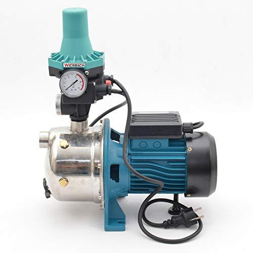 Kreiselpumpe Gartenpumpe 1100 Watt 3600 L/h 5 bar Pumpensteuerung Wasserautomat