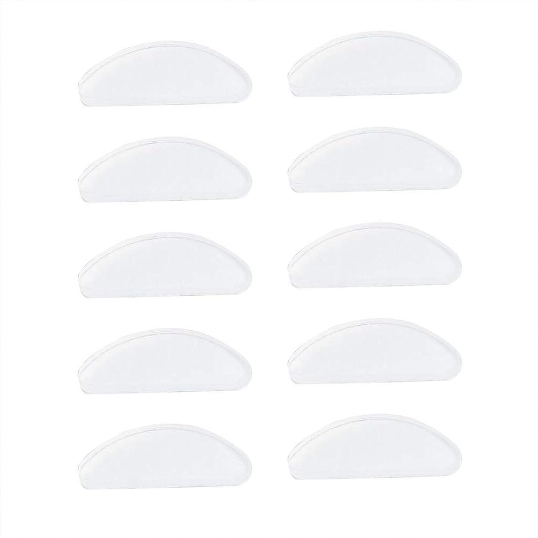 ミンチエステート実験室SUPVOX 25ペアシリコンメガネ鼻パッド粘着ノンスリップノーズパッド用メガネサングラスプラスチックメガネプラスチックフレーム