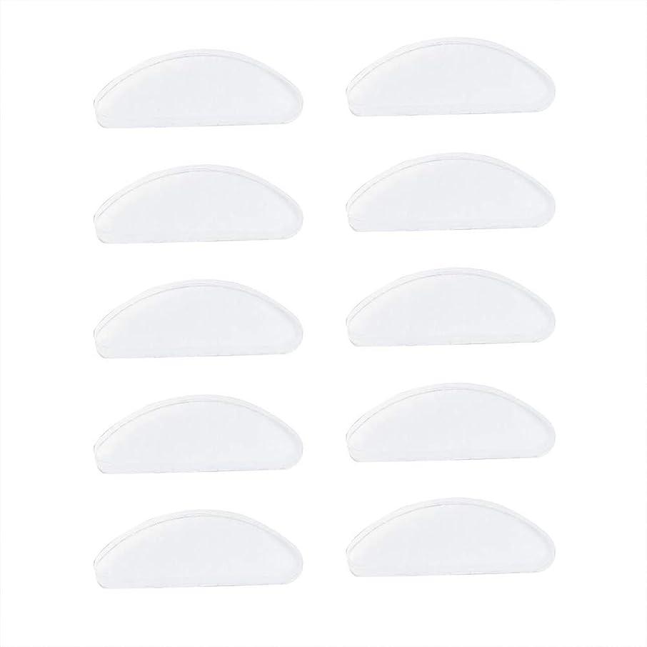 免除する大気四面体SUPVOX 25ペアシリコンメガネ鼻パッド粘着ノンスリップノーズパッド用メガネサングラスプラスチックメガネプラスチックフレーム