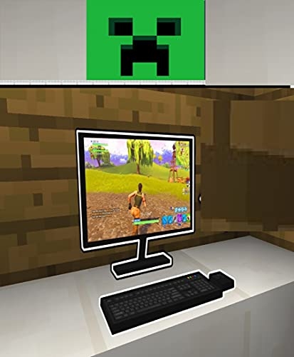 Minecraft- How to make a Monitor and Laptop : Unofficial Minecraft Book for Kids,Children, Teens and Minecrafters (English Edition)