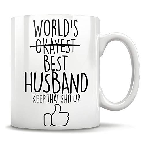 DKISEE vrouw geschenken, grappig cadeau voor vrouw, vrouw mok, vrouw koffie mok, vrouw verjaardag geschenk, beste vrouw geschenk, verjaardag cadeau idee, vrouw kerstgeschenk, keramische witte koffie mok thee kopje 11 oz # 05