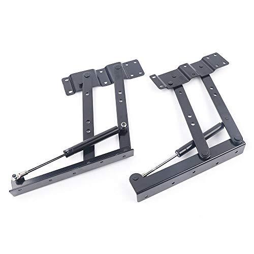 2 muelles de bisagra para muebles de mesa de café, mecanismo de bisagra para muebles de mesa
